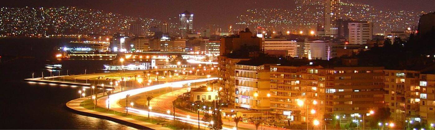 Izmir night city is one of the biggest in Turkey and offers huge chances to be pampered with really attractive girls in the flesh